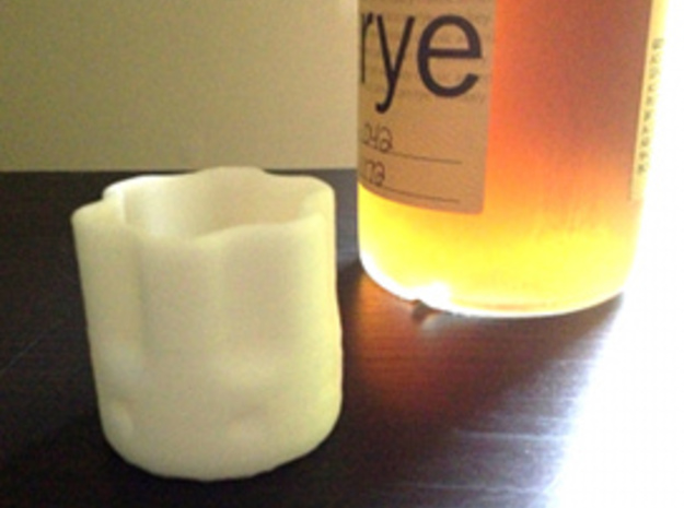 Six Shooter Shot Glass 3d printed