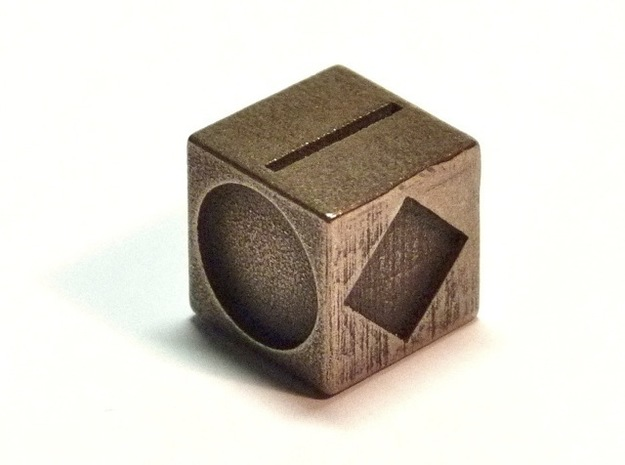 Polygon Dice 3d printed