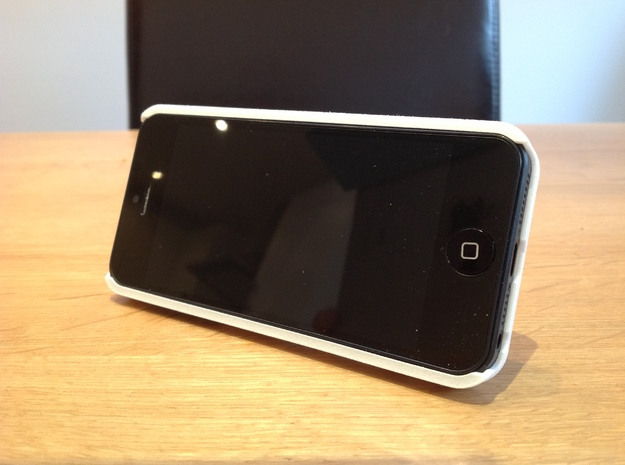 iPhone 5 Case with Flip Out Stands - TriStand Mini 3d printed