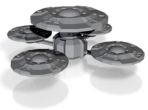 D-9 Space Station 3d printed
