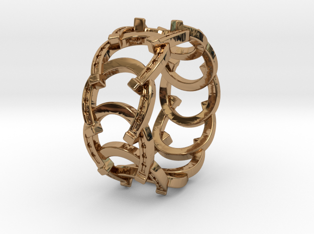 The Ring of Luck 3d printed