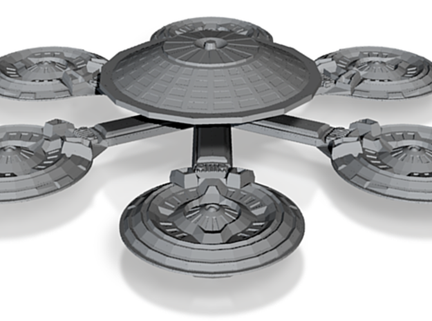Starbase 001 (Earth) 3d printed