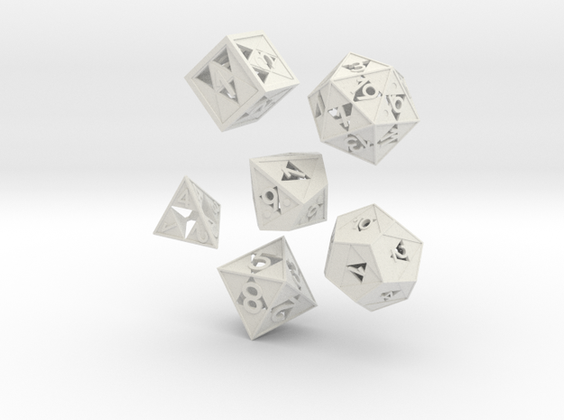 Triforce dice 6 piece set