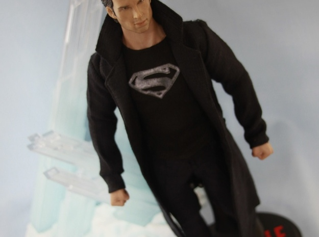 Smallville - Ship Key 3d printed Smallville Figure