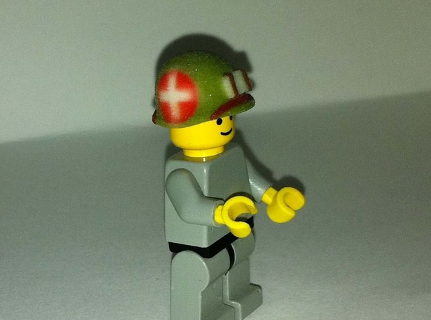 US MARINE M1 HELMET WWII PACIFIC WAR FOR LEGO : R 3d printed