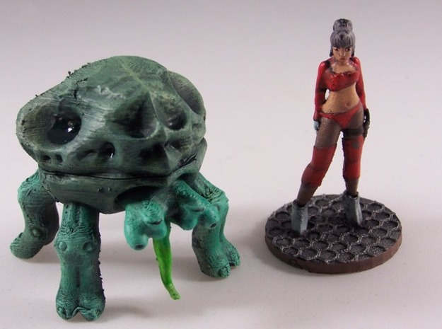 The Crab - Full Color 3d printed