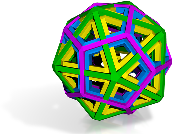 Polyhedra Mix Small 3d printed