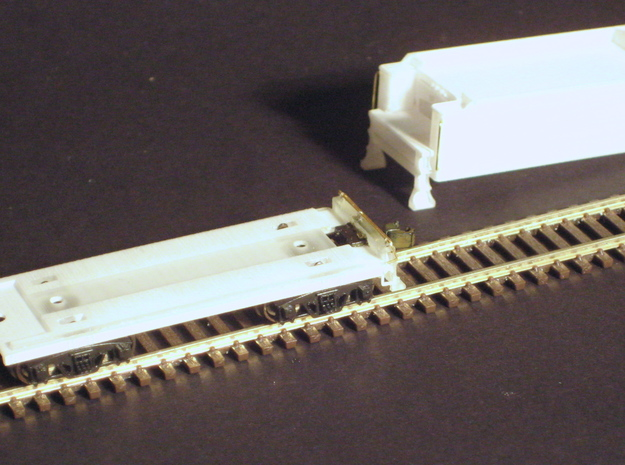 Pennsylvania H9 2-8-0 tender in N scale with Z sc 3d printed