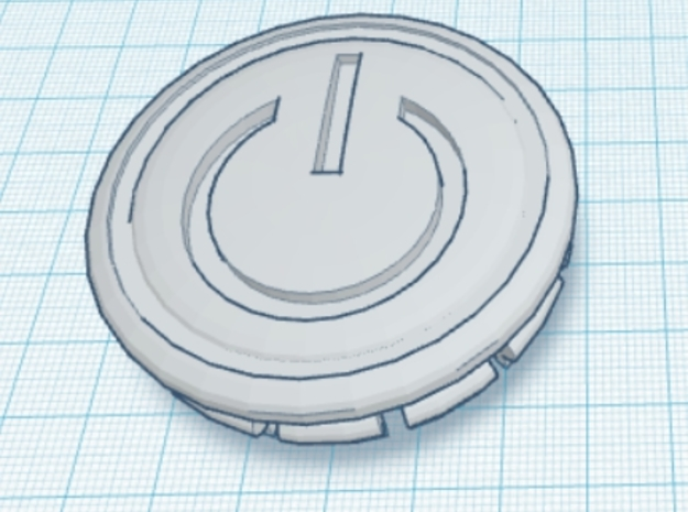4 X Toyota Prius G3 Wheel Center Cap -Power Symbol 3d printed