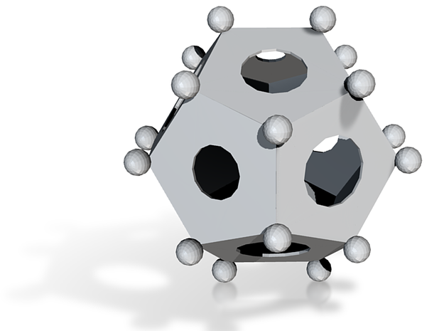 roman dodecahedron 3d printed