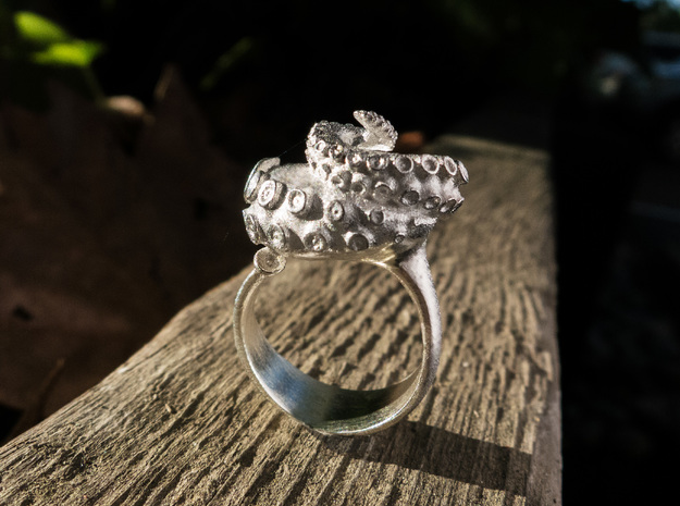 Octopus Ring size7 17.3mm diameter+ more sizes