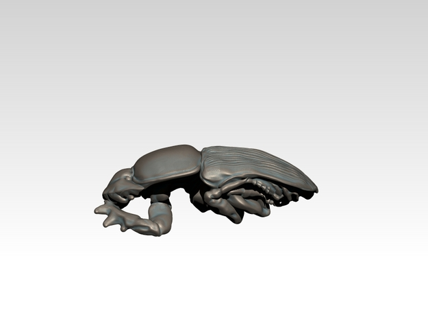 Dung Beetle Pendant 1.5cm - style 2 3d printed