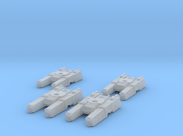 285th Centaur Hovertank platoon (tank hulls only) 3d printed