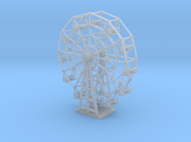 Ferris Wheel - Zscale 3d printed
