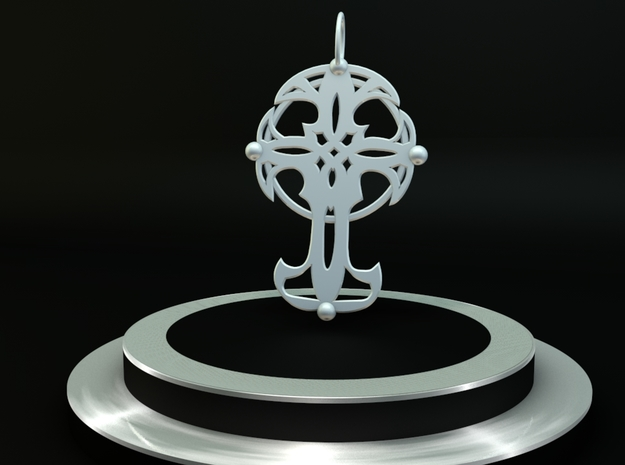 Celtic cross 3d printed Celtic Cross