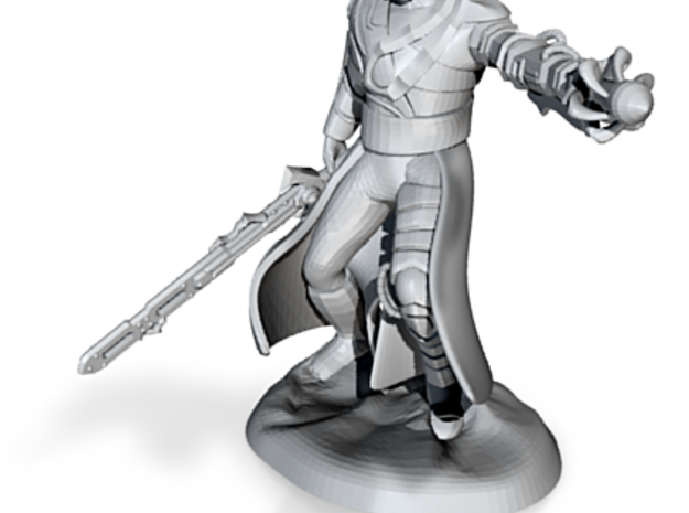 Supervillain Swordsman 3d printed