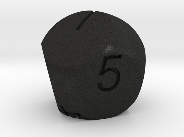 D7 2-fold Sphere Dice 3d printed