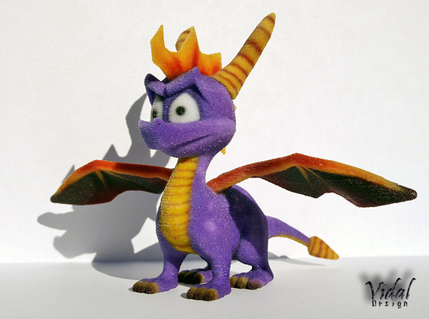 Spyro the Dragon ! 3d printed