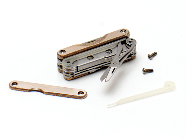 Leatherman Squirt PS4 Scissor Spacer 3d printed