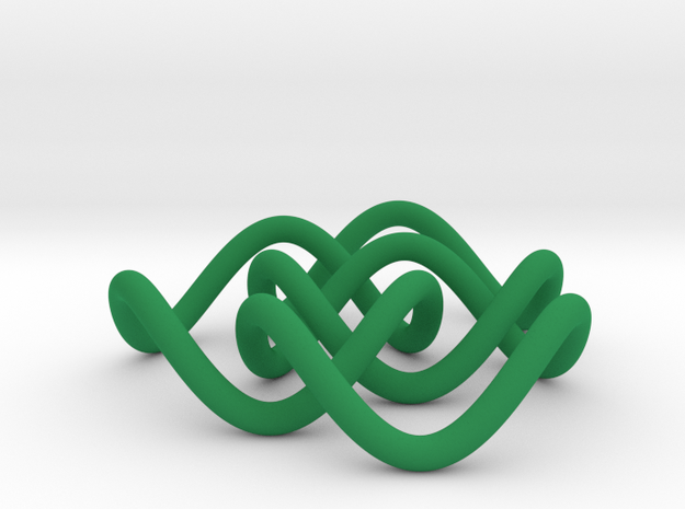 Borromean 6cm, thin 3d printed
