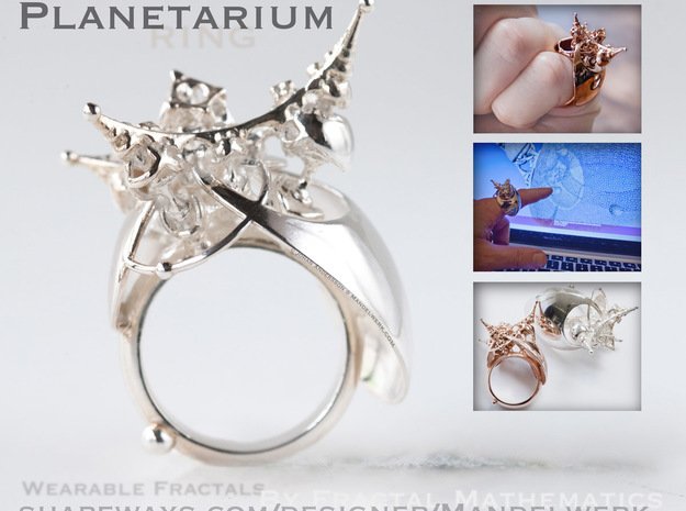 Planetarium Ring - 22mm