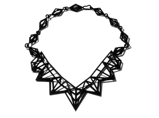 Radical Necklace 3d printed BS&F