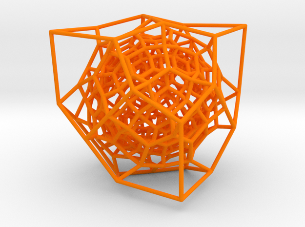 Inversion of Diamond Lattice 2 3d printed