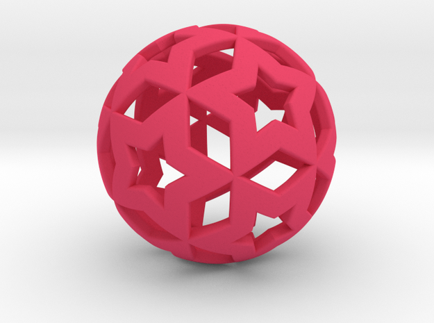 STAR BALL 3d printed