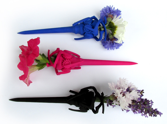 In Royal Blue, Hot Pink, and Black Strong & Flexible