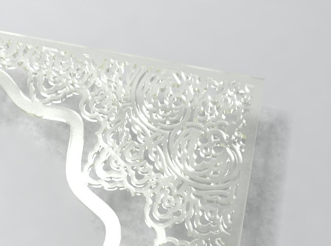 detail in translucent material