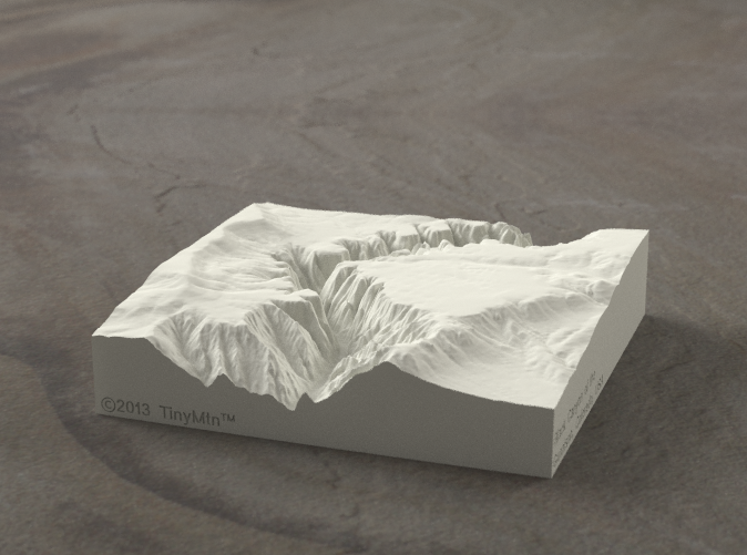 Radiance rendering of model, viewed from the West