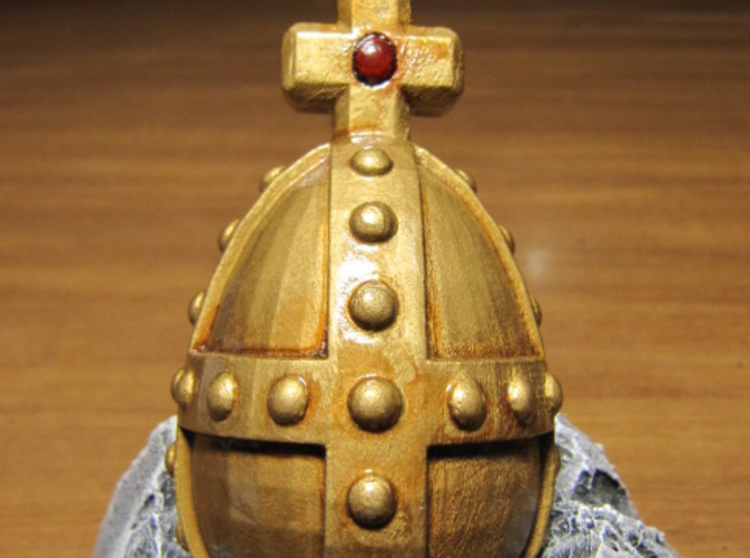 BEHOLD!  The  Holy Hand Grenade of Antioch