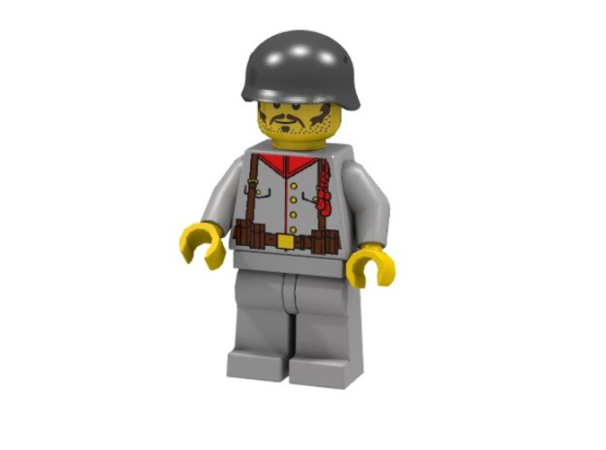 German Infantry WWI (Render of an example Usage)