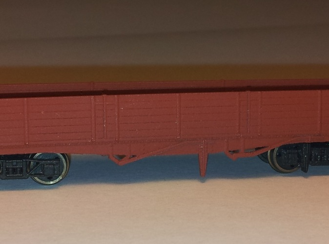 Fitted with Farish wagon wheels and couplings