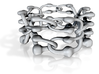 Chain Link Floater Ring - 19mm 3d printed