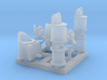 HOn30 Detail parts for 2-8-0 steam loco - B 3d printed