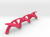 DNA double helix 3d printed