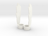 Stratos' Wings for Minimate (pair) 3d printed