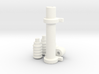1/8 Generic Rack and Pinion Steering unit 3d printed