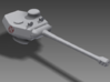 1/100 T-20 Turret 3d printed