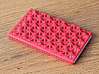 Business card case - CUSTOMIZE! 3d printed Crispy like a Belgium waffle!