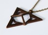 Necklace Pendant (montane) 3d printed