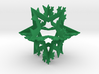 Koch Fractal Ornament 3d printed