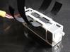 DJI Phantom - 3s Lipo Battery Cage - d3wey 3d printed Velcro can hold it in place