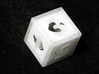 Woven Dice - Small 3d printed Six sided die.