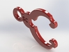 Ridgeline Clip 4 3d printed Ridgeline Clip 4 - Red Polished