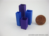 Tower Vase Thin 1:12 scale 3d printed