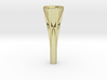 Fluted French Horn Mouthpiece 3d printed