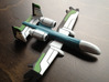 Ground Attack Drone 3d printed Painted model - printed with White Detail and painted with acrylic paints.