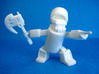 Khan-Dor, The Cola-Warrior 3d printed Print in white strong and flexible.